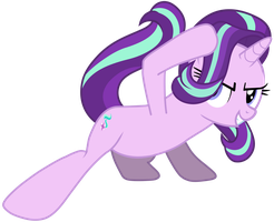 MLP - New Starlight Glimmer Power Sliding by RamseyBrony17