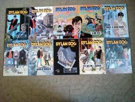Dylan Dog Comic Collection from 30 to 39 by NecromancerKing85