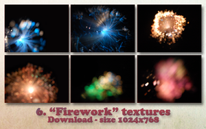 'Firework' textures. by Spenne