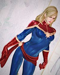 Commission 2018 - Captain Marvel 11 by ToshiieKyoko