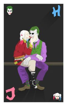 Joker and Harley by Dauganor