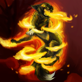 Fire Goddess by Forever--Tainted