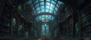 The Library by JJcanvas