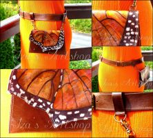 Butterfly belt bag No. 1 by izasartshop