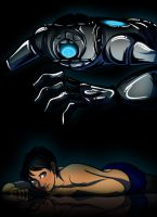 Wheatley+Chell 'Leave the Lights Off Luv' by JasmineAlexandra