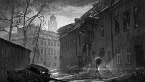 Post apocalyptic Vilnius by martydesign