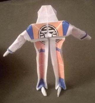 Origami Krillin 3 by WilliamClinch