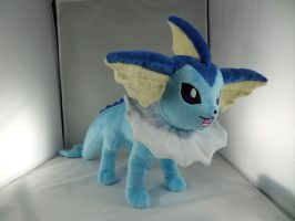 Vaporeon Plush by makeshiftwings30