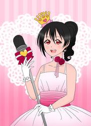 Yazawa Nico - Happy Valentine's Day! by skelly-jelly