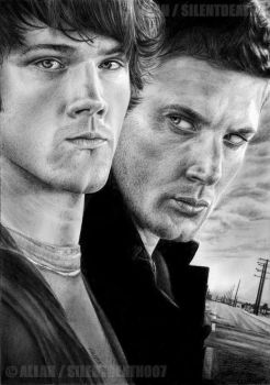 :SAM AND DEAN: by Angelstorm-82