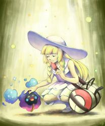 Lillie and Nebby by GoldenBoden