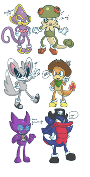 PMD-E Guild leaders -Sonic- by Paichii