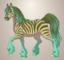 Zebra 2 by QuestionUnicorn