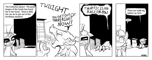 Twilight and Smarty Archive: Strip 5. by Dreatos