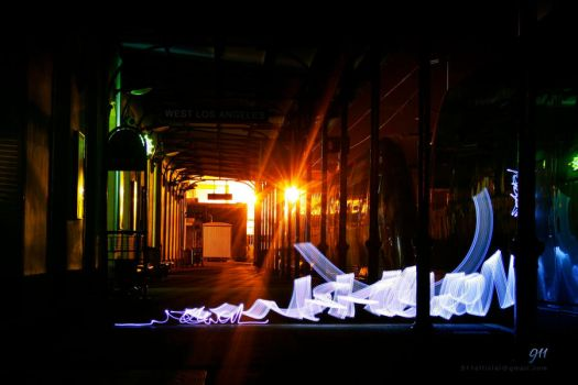 Light painting by 911OFFICIAL