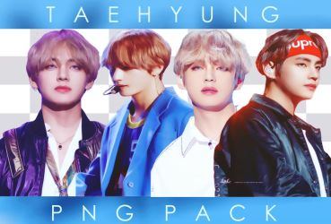 Taehyung Png Pack by Auwbby