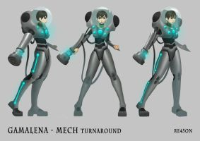 Gamalena Mech by re45on