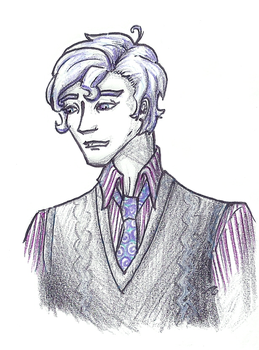 Cecil in a SweaterVest by aquabluejay