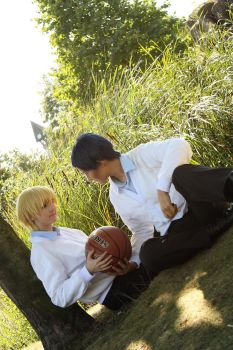 AoKise: One-on-One? by LordWolfram