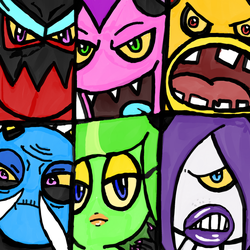 The Deadly Six by WhiteRose1994