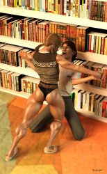 Nerd Girl and why you should be quiet in a library by msclgrl