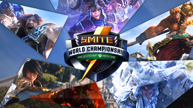 Smite World Championship 2016 Wallpaper by Samuwhale