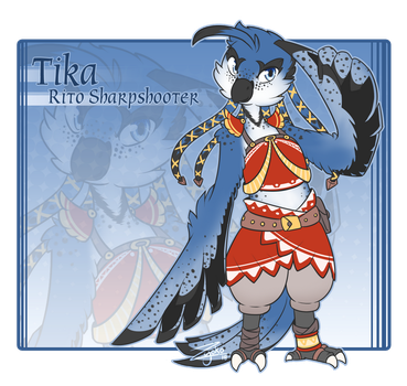 Chain of Awakening . Tika Profile by Hawkein