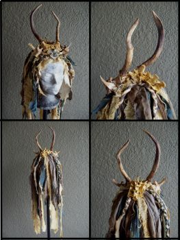 Wasteland Shaman Headdress by Xavietta
