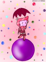 Adventure Time- Raining gumball by I-Luv-Emoboys