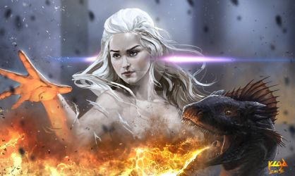 Dracarys by scarypet