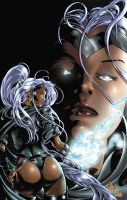 Mike Deodato's Storm by iANAR