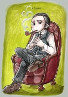 holmes_contemplating by ademh