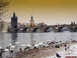 Winter in Prague by PaSt1978