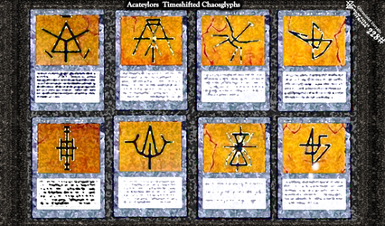 228 - Acateylors Timeshifted Chaosglyphs by Ultraviolet-Versalis