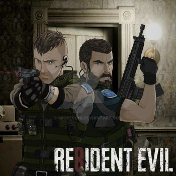 Resident Evil 8 by Mickecchi
