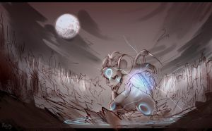 -Unfinish Picture- Gloom Ground by Fierying