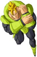 ANDROID 16 SSJ WHAT IF by XRICARDOX