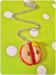 Juicy apple pendant by ButterMakesYouFat