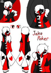 [Casino Gang]-Jake Poker by HerrenLovesFNAF