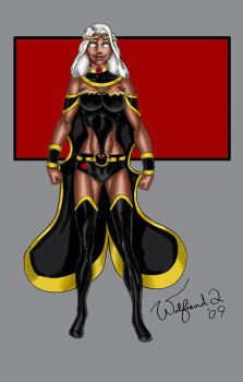 Storm redesign by Walfiend2