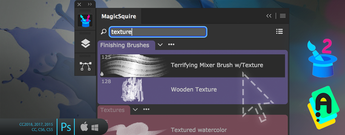 Tip#67: Filtered Tool Presets in MagicSquire/PS by Anastasiy