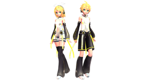 [MMD DL] TDA Kagamine Appends Edit by FreezyChanMMD