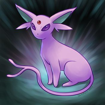 Espeon by sammich