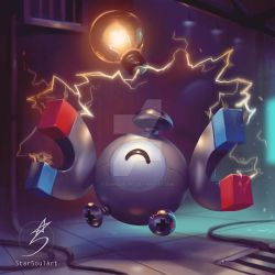 Magnemite by StarSoulArt