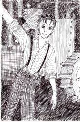 Steampunk Boy I by Mirithil7