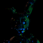 Ignited Springtrap Icon by EndyArts