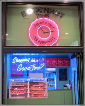 Doughnut Time Neons by JohnK222