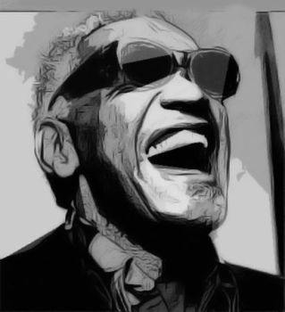 Ray Charles tribute by c-o-r-t-e-z