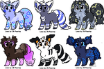 Kuschpl Adoptables - OPEN by JB-Pawstep