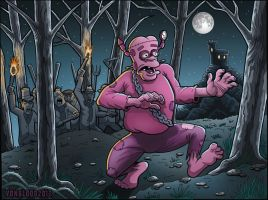 The Curse of Frankenberry by vonblood
